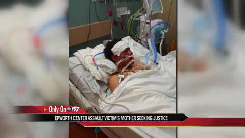 Mom seeking justice for son allegedly attacked in local mental health facility