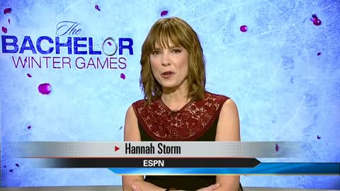 "ESPN's Hannah Storm talks about new TV series ""The Bachelor Winter Games"""