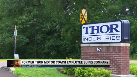 Ex-employee sues Thor Motor Coach in Elkhart over payments
