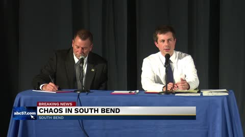 Explosive town hall hosted by Mayor Buttigieg