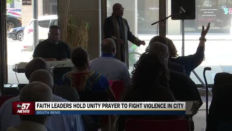Faith leaders pray for change in South Bend