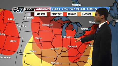 Fall colors coming to Michiana