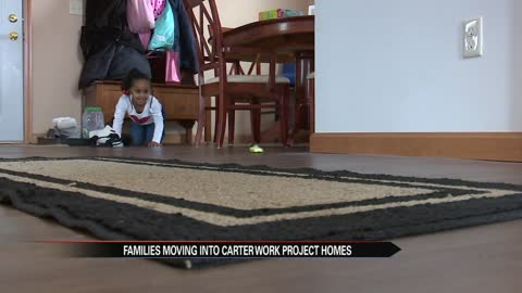 Families begin moving into Carter Work Project homes