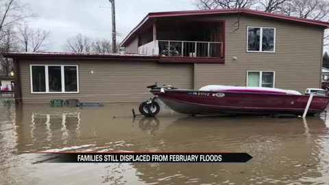 Marshall County families still displaced from February floods