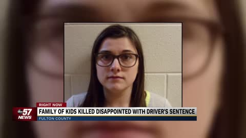 Woman who killed 3 children, injured 1 sentenced to 4 years in prison