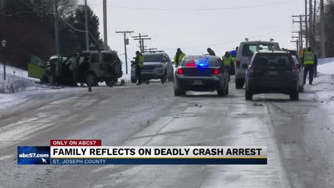 Family reacts to deadly crash arrest; Urges drivers not to drive intoxicated
