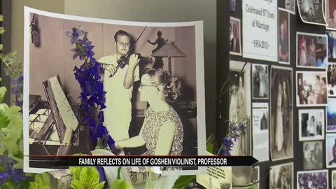 Family reflects on life of Goshen violinist, professor
