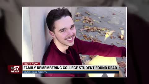 Family remembering college student found dead