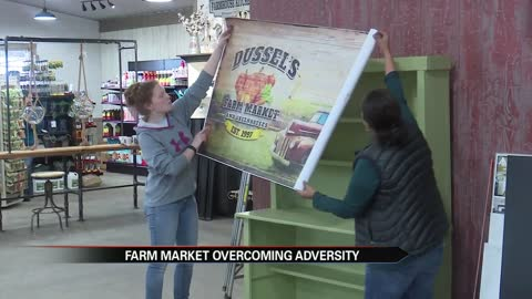 Dussel's Farm Market and Greenhouse to reopen after suffering...