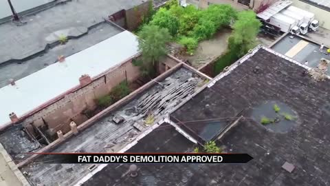 Fat Daddy's approved for demolition