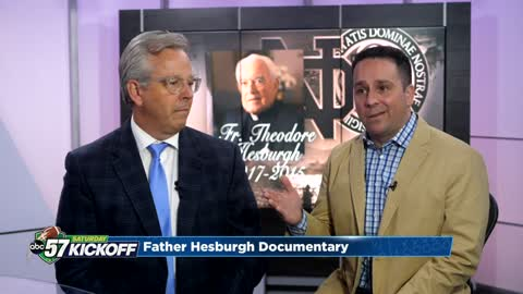 Two filmmakers preserving Father Hesburgh's legacy in new documentary