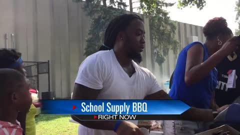 South Bend father gives out school supplies in memory of slain daughter