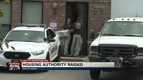 FBI conducting investigation at South Bend Housing Authority, 2 other properties