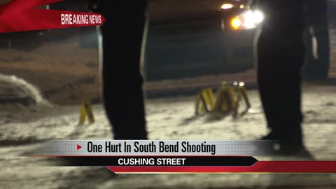 Female victim hurt in shooting on Cushing Street in South Bend