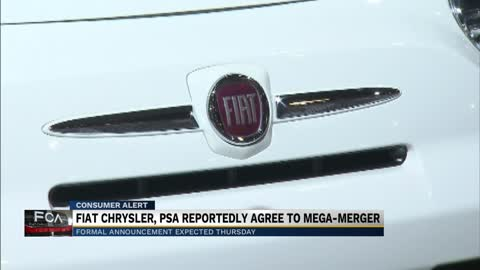 Fiat Chrysler is in merger talks with Peugeot owner
