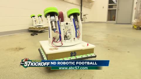 Fighting Irish battle on the robotic field