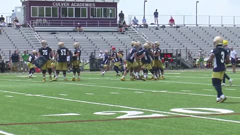 Fighting Irish training camp kicks off Tuesday at Culver Academies