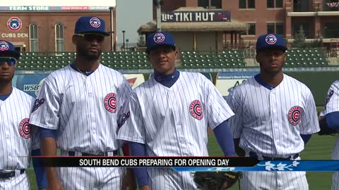 South Bend Cubs making final preparations for Opening Night