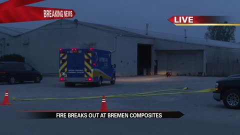 Investigators: two workers hurt in Bremen plant fire