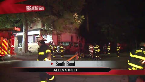 Fire damages South Bend home