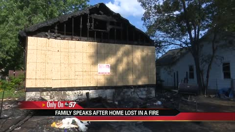 Fire destroys family's home in Mishawaka