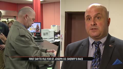 First candidates officially enter race for St. Joseph County Sheriff