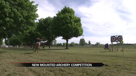 First-ever mounted archery competition in MI happening in Berrien Springs this weekend