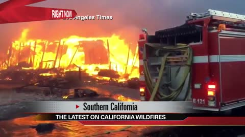 First fire-related death confirmed in Southern California