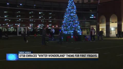 First Fridays: A Winter Wonderland in downtown South Bend