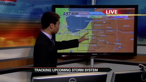 First strong/severe storms of the season possible