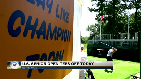 First U.S. Senior Open held on a college course kicks off at Notre Dame