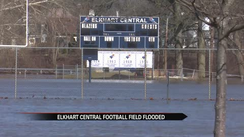 Flooding forces Elkhart Central HS to cancel activities