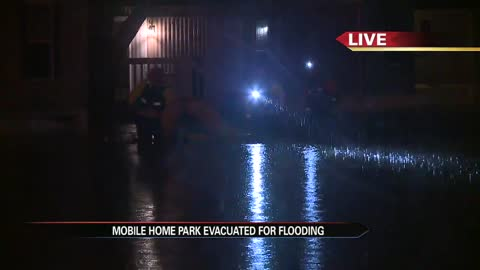 Flooding prompts evacuation in Goshen neighborhood