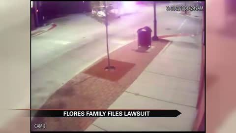 Flores family files wrongful death suit against former officer,...