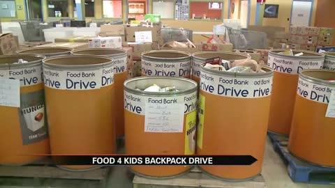 """Food 4 Kids Backpack Program"" benefits thousands of Michiana students"