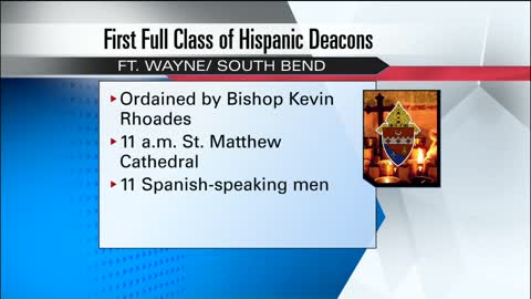 Fort Wayne-South Bend Diocese welcomes Spanish speaking deacons