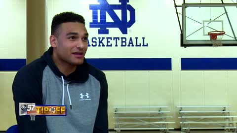 Forward Austin Torres living out his dream at Notre Dame