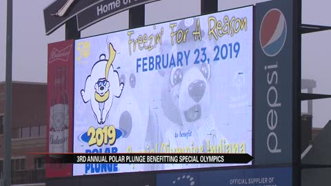 South Bend Cubs host third annual Polar Plunge to raise money for Special Olympics Indiana