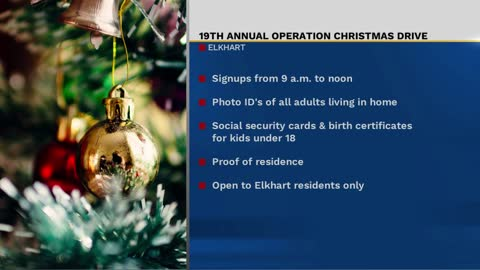 Operation Christmas signups end Friday