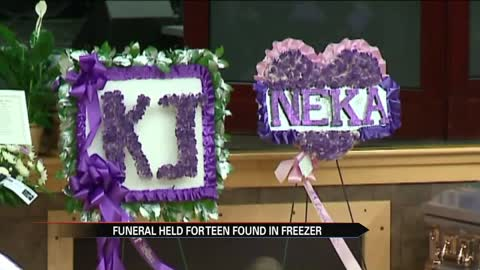 funeral held for teen found in freezer