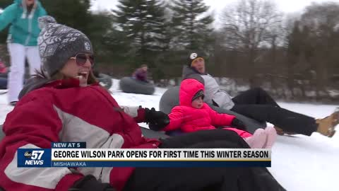 George Wilson Park opens for the first time this winter season