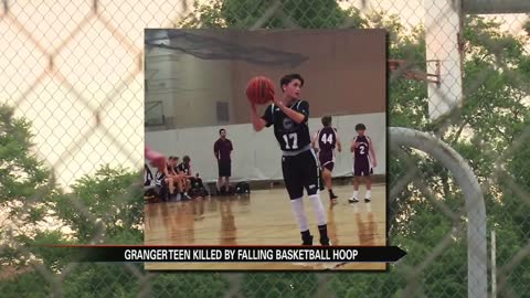 14-year-old Granger teen killed playing basketball in home