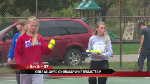 Girls doubles team fills out Brandywine boys tennis roster