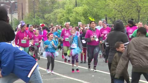 Girls on the Run 5k celebrates programs finale