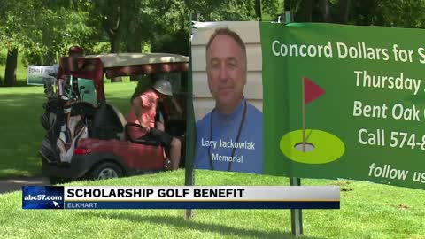 Golf outing benefits Concord HS students