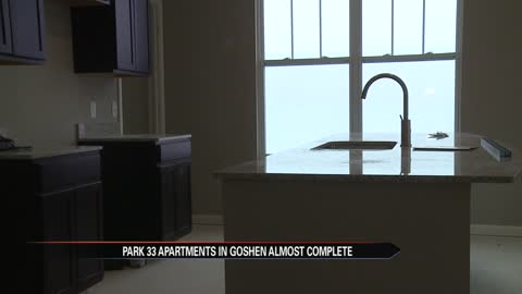New apartment complex hosting open house