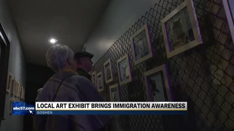 Goshen art exhibit raises awareness of injustice on the southern...