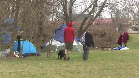 Goshen homeless relocation protests begins today