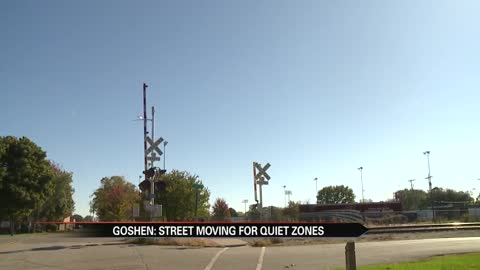 Board of Works moving Goshen street to make quiet zone possible