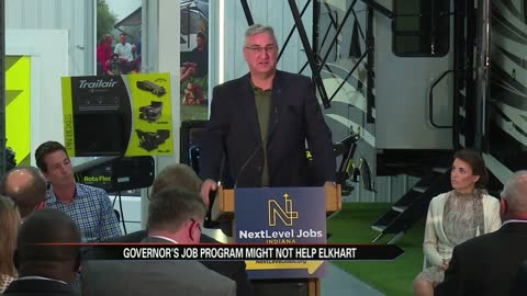 Gov. Holcomb launches jobs plan in Elkhart; comments on Trump/Charlottesville